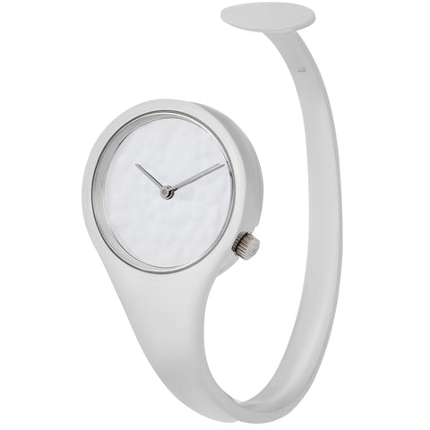 image of Georg Jensen Viviana Stainless Steel Watch Cuff