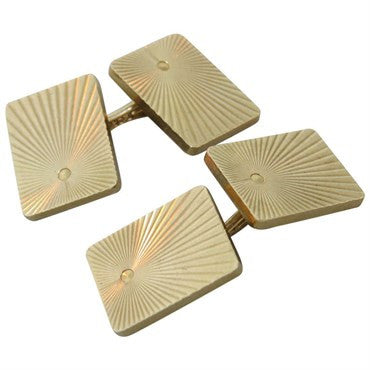 image of 1980s Tiffany & Co 14k Gold Cufflinks