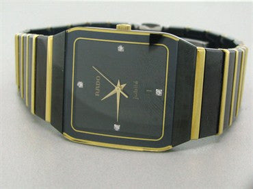 thumbnail image of Men's Rado Jubile Anatom 18k Gold Ceramic Watch