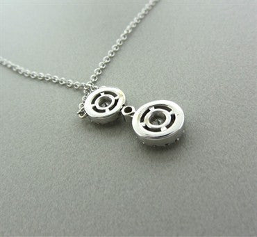 thumbnail image of New Hearts On Fire Repertoire Diamond Drop Pendant Necklace