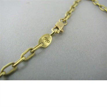 image of Estate Penny Preville 18k Gold Diamond Necklace
