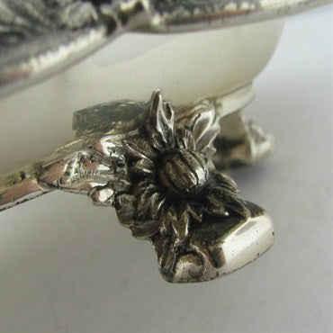 thumbnail image of Estate Tiffany & Co Chrysanthemum Footed Tray