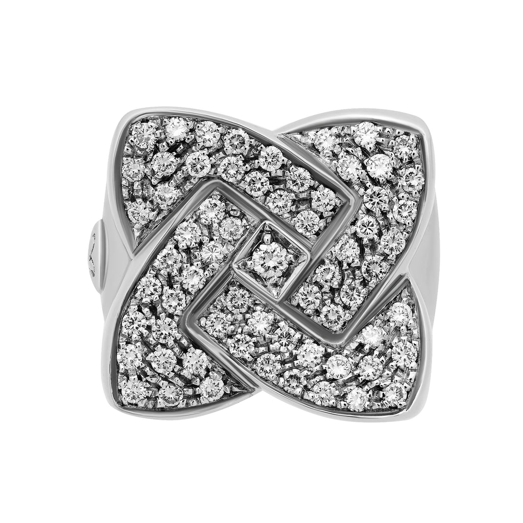 thumbnail image of White Gold Diamond Ring