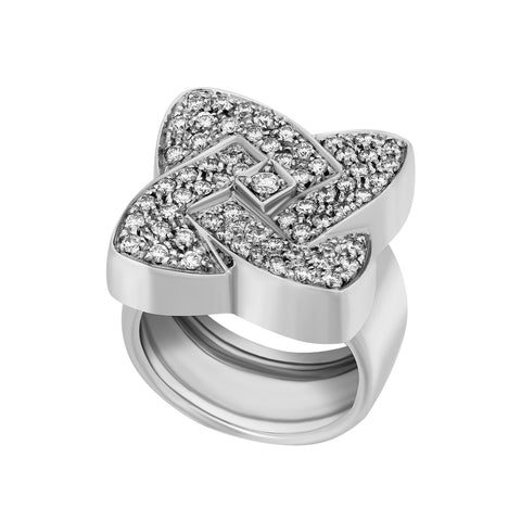 image of White Gold Diamond Ring
