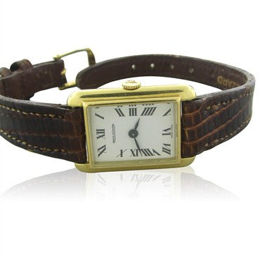 image of Classic Jaeger Lecoultre 18K Gold Ladies Watch