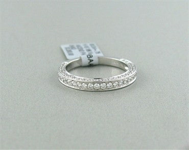 image of New Hearts On Fire Ascend Pave Diamond Wedding Band Ring