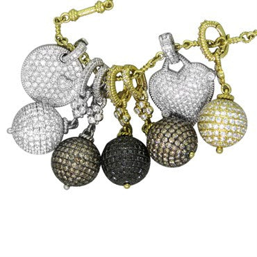 thumbnail image of Judith Ripka Truffle Diamond Necklace