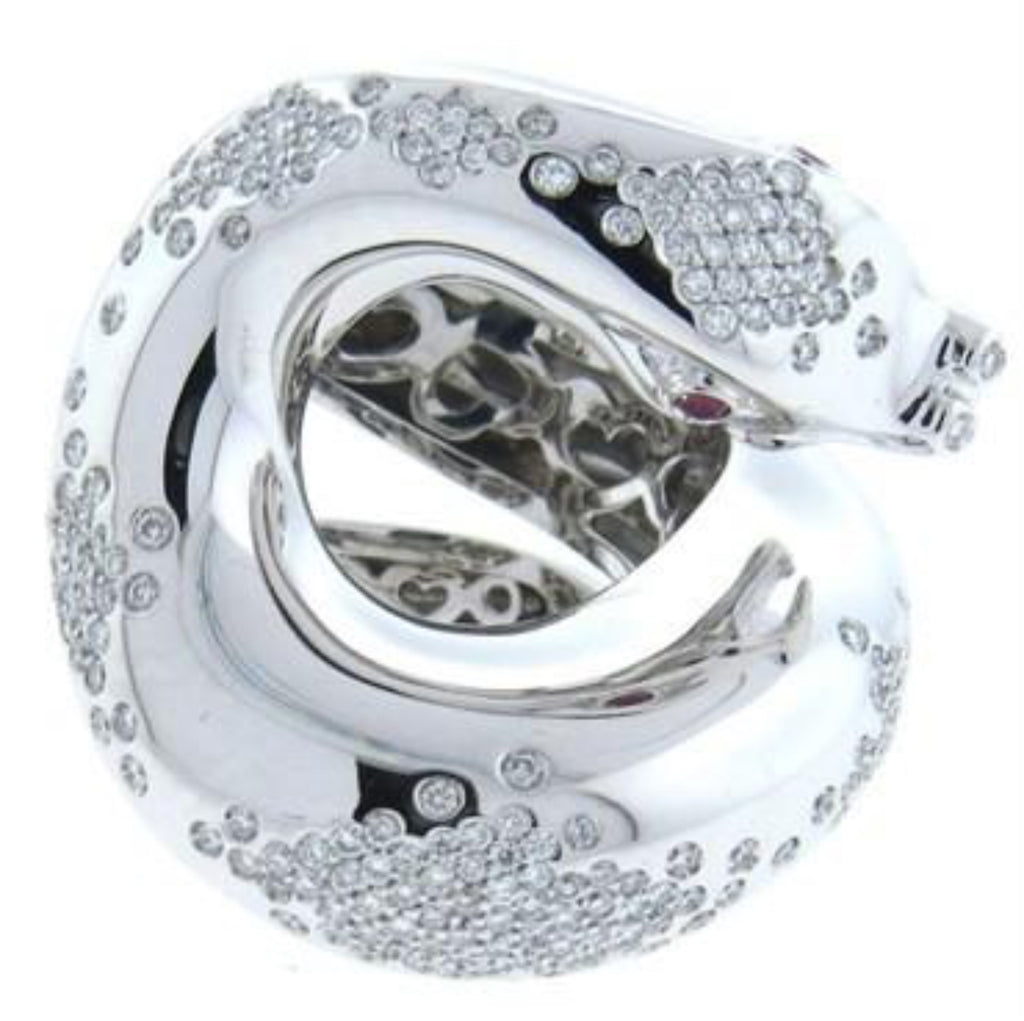 thumbnail image of Impressive Pasquale Bruni Il Peccato Gold Diamond Snake Ring