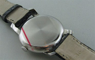 thumbnail image of Rare Men's 1950s Vintage IWC Schaffhausen Watch Stainless Steel Cal.89