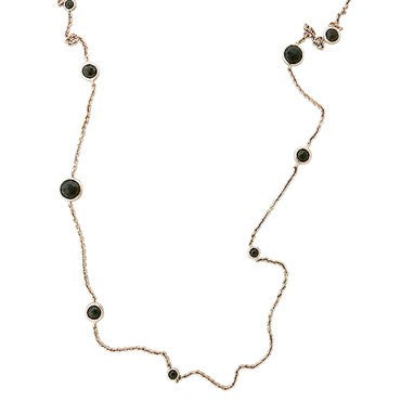 thumbnail image of Ippolita Rose Collection Sterling Silver Smokey Quartz Necklace