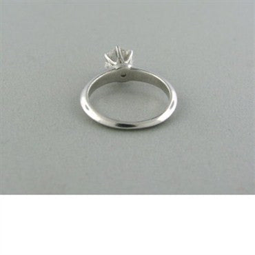 thumbnail image of Tiffany & Co H VVS1 0.80ct Diamond Engagement Ring