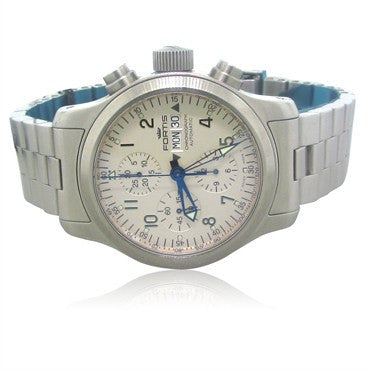 thumbnail image of Fortis B 42 Chronograph Stainless Steel Mens Watch 635.10
