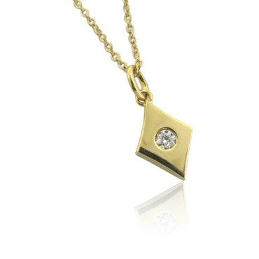 image of Hearts On Fire 18k Gold 0.08ct Diamond Pendant