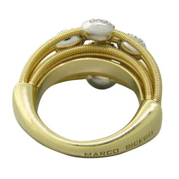image of Marco Bicego Madagascar 18k Gold Diamond Ring