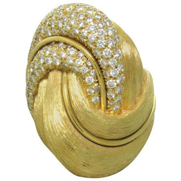 image of Henry Dunay 3.00ctw Diamond 18k Gold Ring