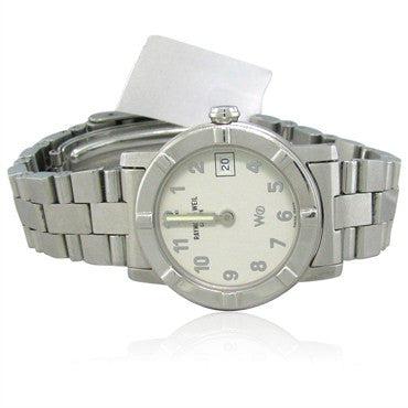 image of Raymond Weil W1 3000 Stainless Steel Quartz Ladies Watch