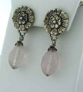 thumbnail image of Stephen Dweck Sterling Silver Gemstone Drop Earrings