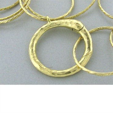 thumbnail image of Tiffany & Co Paloma Picasso Hammered Circles Necklace