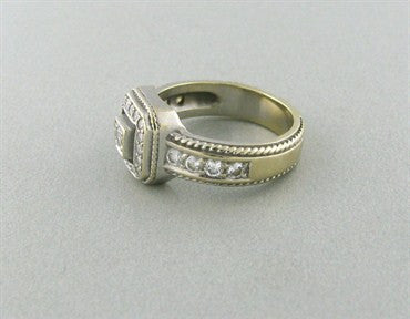 thumbnail image of Penny Preville Classic Collection 18K Gold Diamond Ring