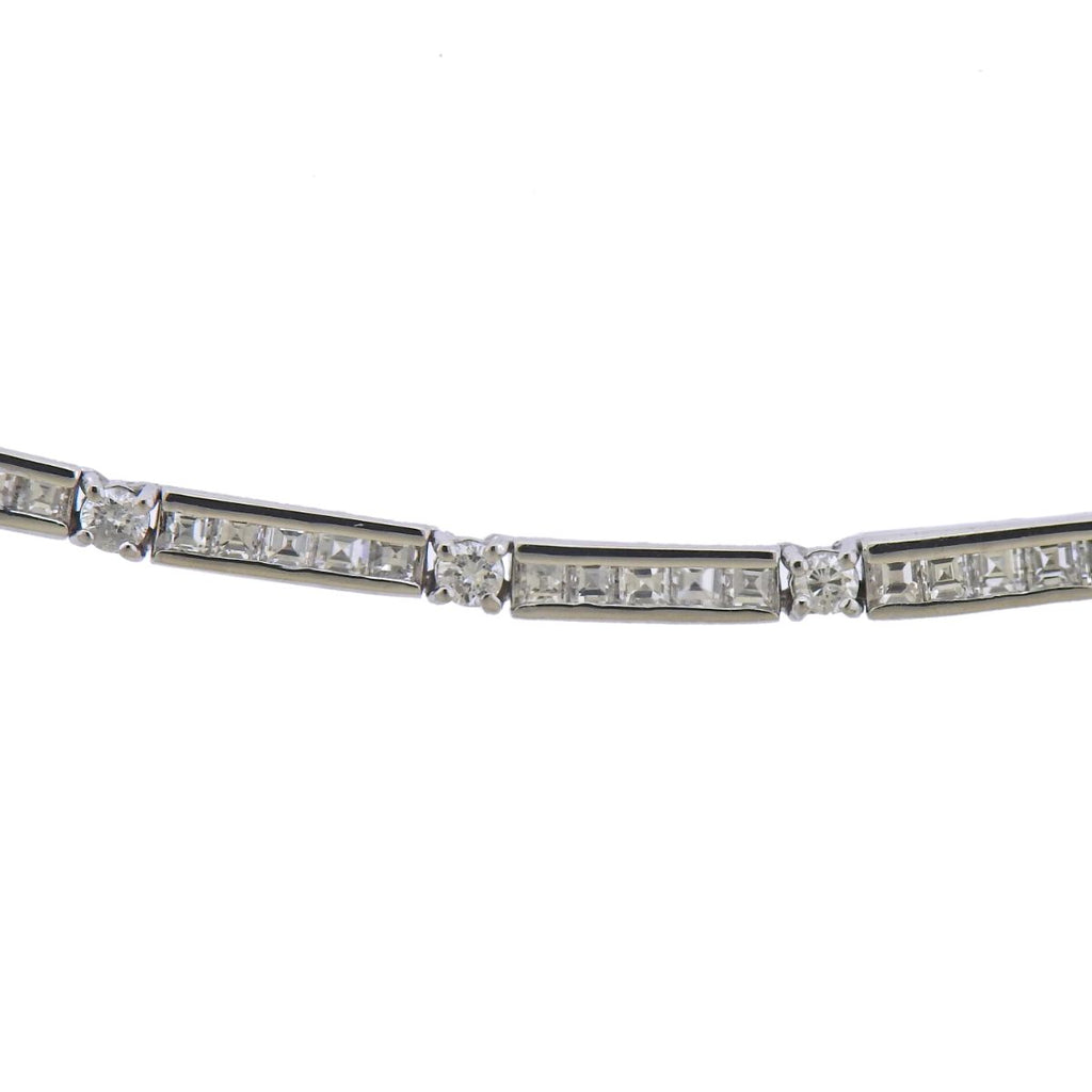 thumbnail image of 18k Gold 5.75ctw Diamond Necklace