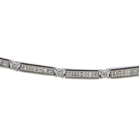 image of 18k Gold 5.75ctw Diamond Necklace