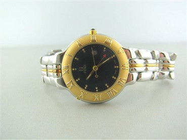 thumbnail image of New Fendi Stainless Gold Tone Ladies Watch F92330