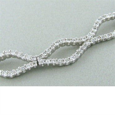 thumbnail image of Estate Gregg Ruth 18k Gold 2.16ctw Diamond Necklace