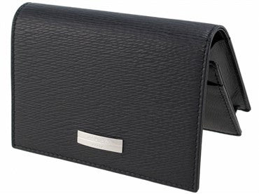 thumbnail image of ST Dupont Black Leather Contraste Business Card Holder 074102