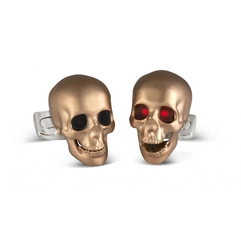 image of Deakin & Francis LED Skull Cufflinks