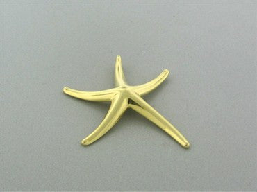 thumbnail image of Tiffany & Co Elsa Peretti 18K Yellow Gold Starfish Enhancer Pendant
