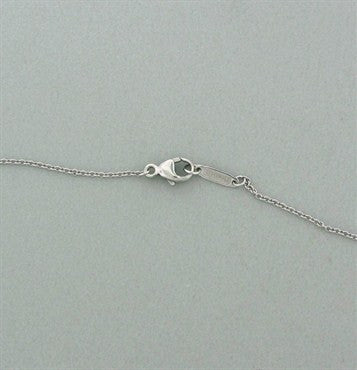 thumbnail image of Tiffany & Co Legacy Pagoda Platinum Diamond Pendant Necklace