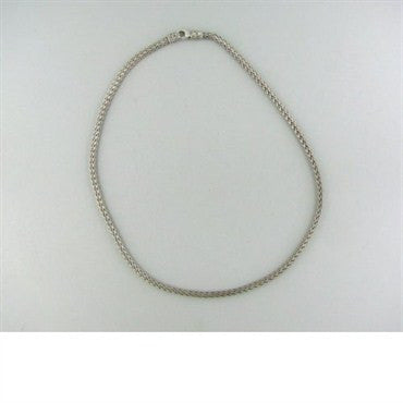 thumbnail image of John Hardy Sterling Silver Woven Chain Necklace