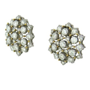 image of Buccellati Diamond 18k Gold Earrings