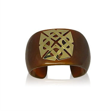 thumbnail image of Estate Trianon 18K Gold Cuff Bracelet