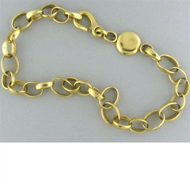 thumbnail image of Pomellato Sabbia 18k Yellow Gold Link Necklace 95g