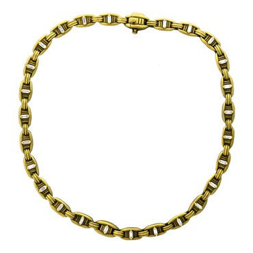 image of 1970s Kieselstein Cord 2.00ctw Diamond 18k Gold Chain Necklace