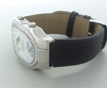 thumbnail image of Philip Stein Teslar Dual Time Mother Of Pearl Diamond Ladies Watch