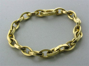 thumbnail image of Tiffany & Co 18K Yellow Gold Link Bracelet