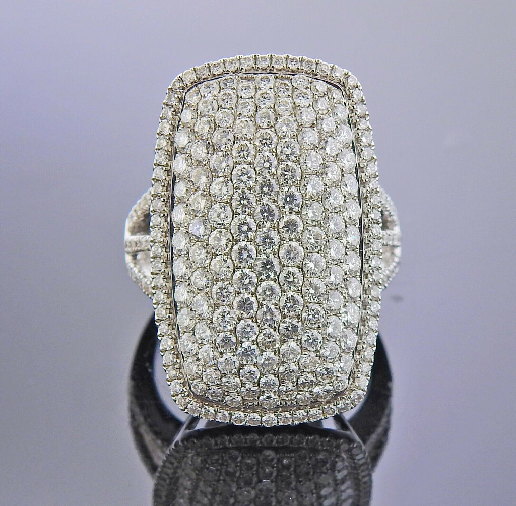 thumbnail image of Gregg Ruth Diamond Gold Cocktail Ring