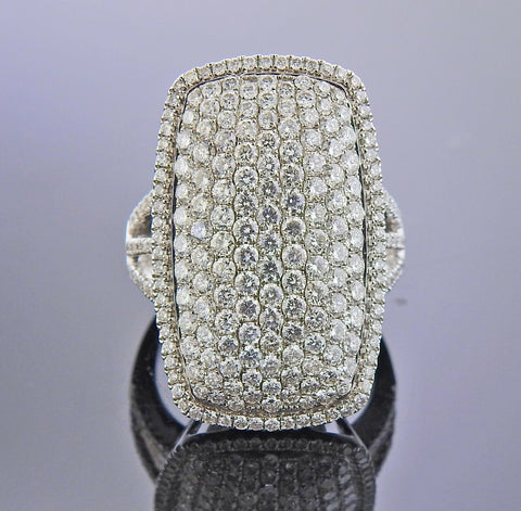 image of Gregg Ruth Diamond Gold Cocktail Ring