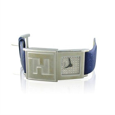 thumbnail image of New Fendi Stainless Steel Diamond Ladies Watch F541243D