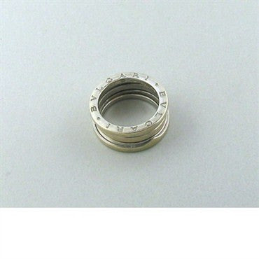 image of Estate Bulgari Bvlgari B. Zero 18k White Gold Band Ring Size 52