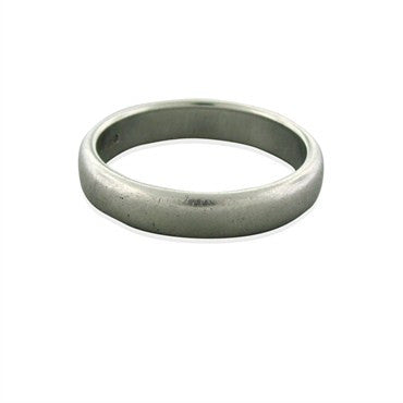image of Estate Tiffany & Co 4.5mm Platinum Wedding Band Ring
