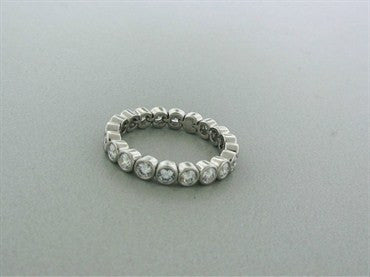 thumbnail image of Tiffany & Co Jazz Platinum 1.93ctw Diamond Band Ring
