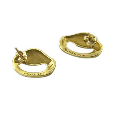 thumbnail image of Vintage 1980 Tiffany & Co 18K Yellow Gold Earrings