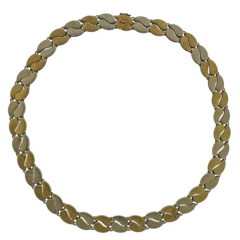 image of Mario Buccellati Gold Link Necklace