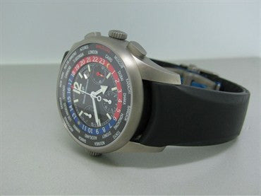 thumbnail image of Girard Perregaux World Time Chronograph Titanium Mens Watch