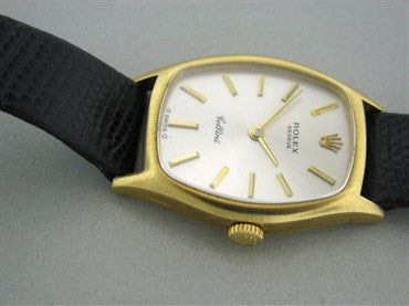 thumbnail image of Estate Rolex Cellini 18k Gold Ladies Watch Ref. 3803