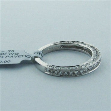 image of Hearts On Fire Ascend Pave Diamond Wedding Band Ring