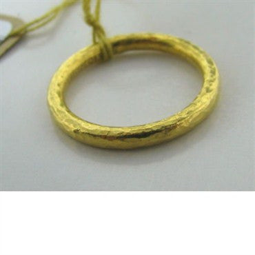 image of New Gurhan 24k Gold Wedding Band Ring